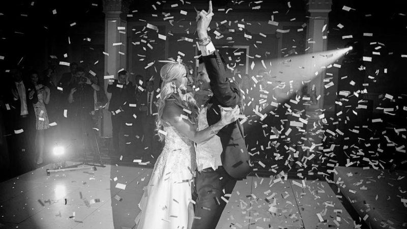 DJ na wesele - pierwszy taniec młodych