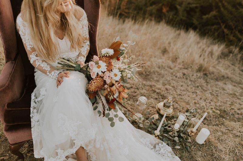 Suknia ślubna 2020, ozdobą całego ślubu